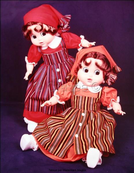Quel est le prénom de cette poupée Bella ? date 1977