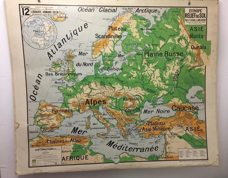 Les départements et les préfectures français
