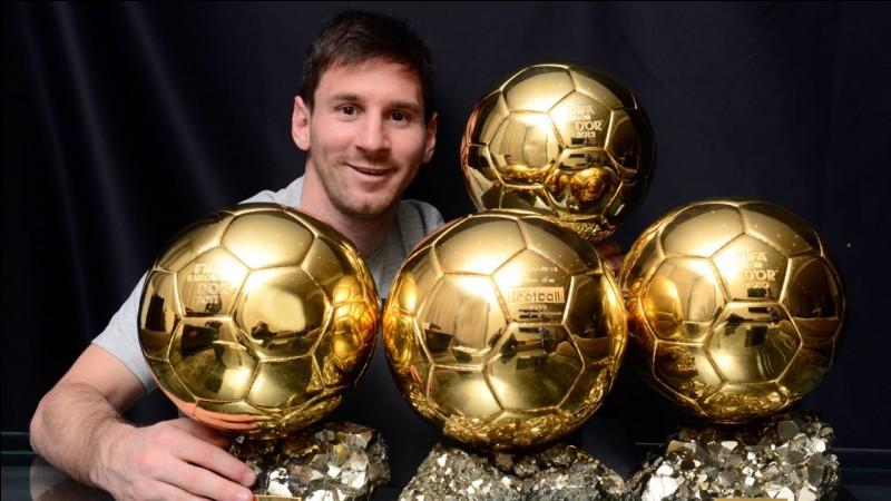 Quel gardien a gagné le Ballon d'Or ?