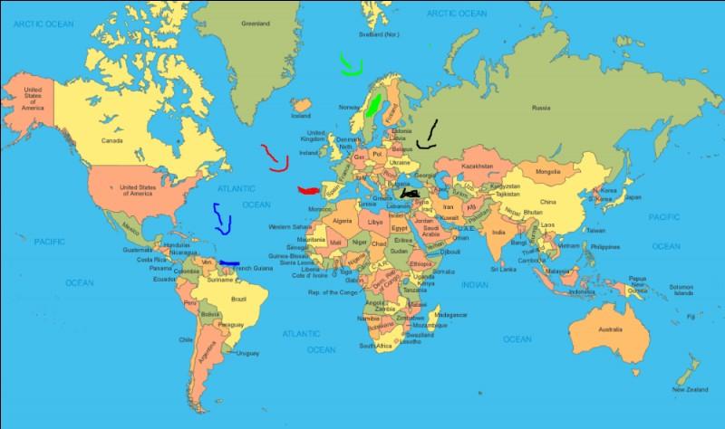 Où se trouve la Suède ?