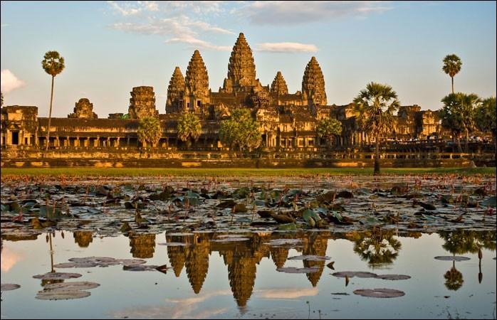 Site millénaire de l'Empire Khmer, voici Angkor :