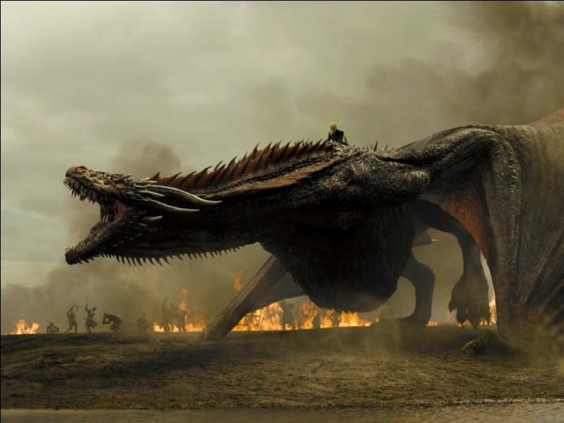 Face à un dragon, tu...