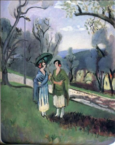 """Qui a peint """"Conversation sous les oliviers"""" ?"""