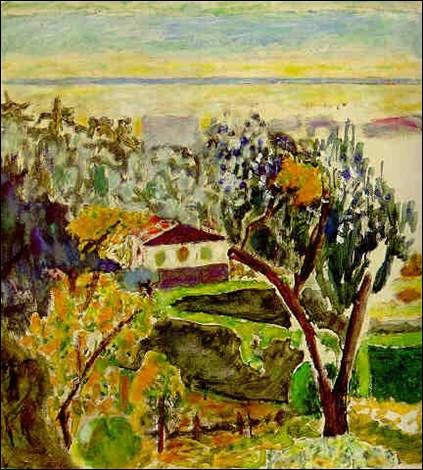"""Qui a peint ce """"Paysage aux oliviers"""" ?"""