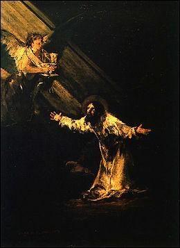 """Qui a réalisé la toile """"Le Christ au jardin des oliviers"""" ?"""