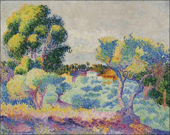 """Qui a peint """"Eucalyptus et oliviers"""" ?"""