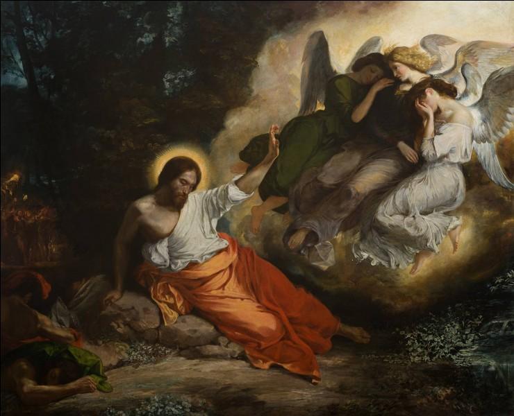 """À qui doit-on cette représentation du """"Christ au jardin des oliviers"""" ?"""