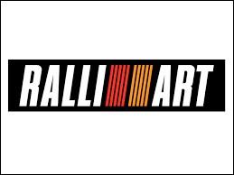 De quelle marque Ralliart est-il le département compétition ?