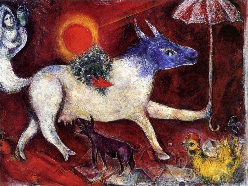 """Un petit cadeau avec """"La Vache à l'ombrelle"""" de :"""