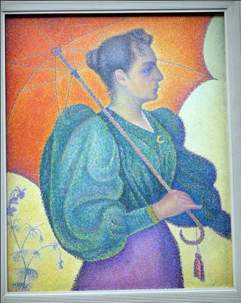 """Qui a peint """"Femme à l'ombrelle"""" ?"""
