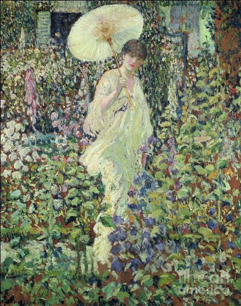 """Et enfin qui a représenté cette """"dame à l'ombrelle"""" ?"""