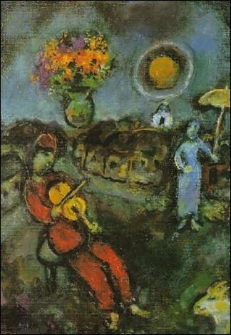 """Qui a peint """"Violon et ombrelle"""" ?"""