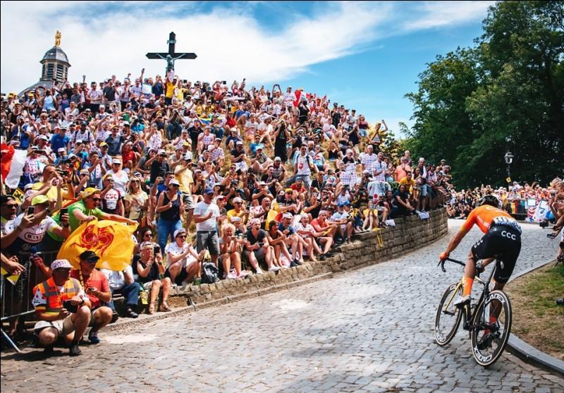 La première étape est toujours très nerveuse (chutes, cassures, adrénaline). Ce Tour 2019 n'échappe pas à la règle et nous avons droit à un sprint en petit comité suite à de nombreuses chutes. Qui remporte à la surprise générale ce sprint et endosse le premier maillot jaune ?