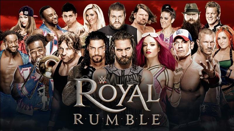 Combien de fois a-t-il remporté le Royal Rumble ?