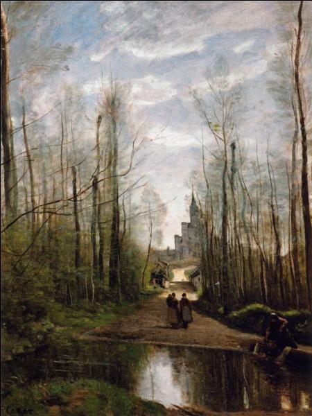 """""""L'église de Marissel"""" nous vient du peintre :"""