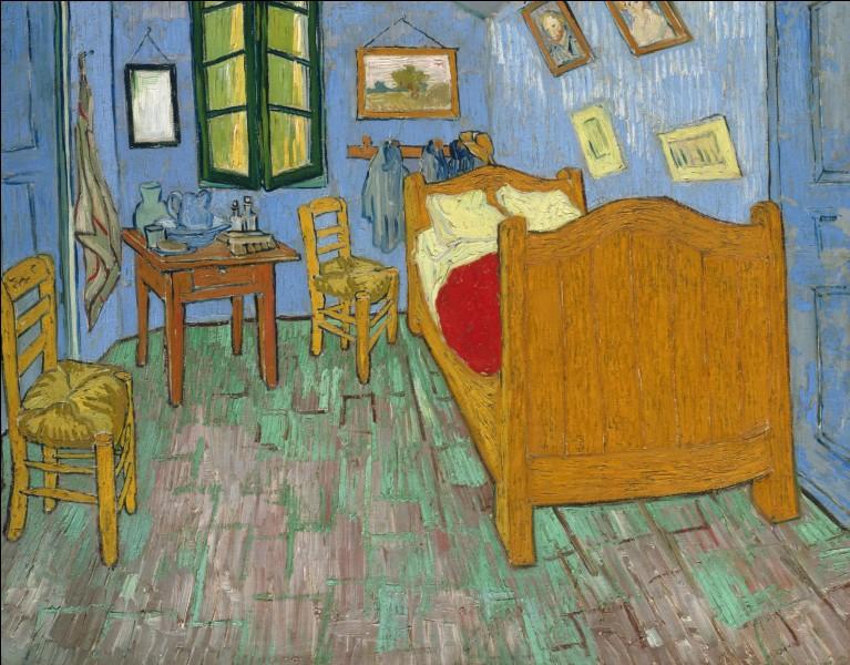 """Ce tableau, """"La chambre à coucher"""", est connu dans l'histoire de la peinture. Qui l'a réalisé ?"""