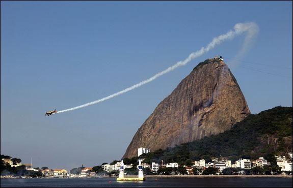 Quelle est cette ville qui a déjà accueilli deux fois le championnat du monde de course aérienne ?