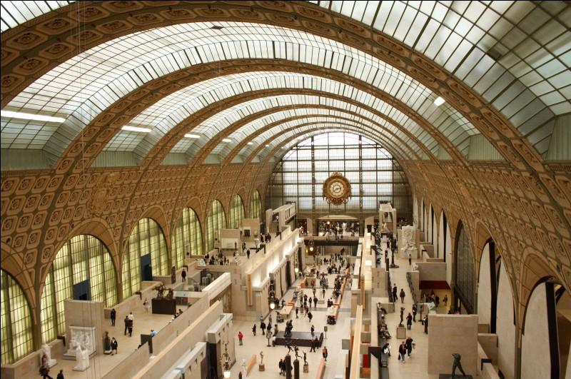 Le musée d'Orsay se situe dans le 5e arrondissement de Paris.