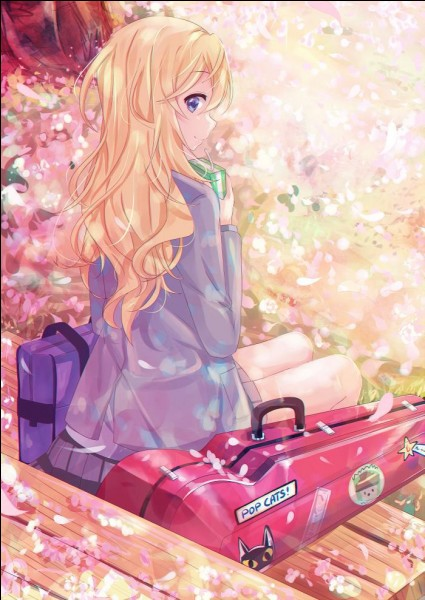 De quoi souffre Kaori de ''Your Lie In April'' ?