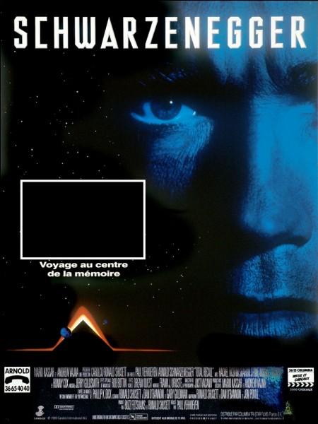 Schwarzy, alias Douglas Quaid, ne sait plus trop si ses visions de Mars sont des rêves ou de vrais souvenirs...C'est dans :