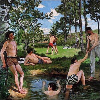 """Qui a peint """"Scène d'été"""" ?"""