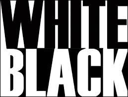 """Comment dit-on le mot """"blanc"""" en anglais ?"""