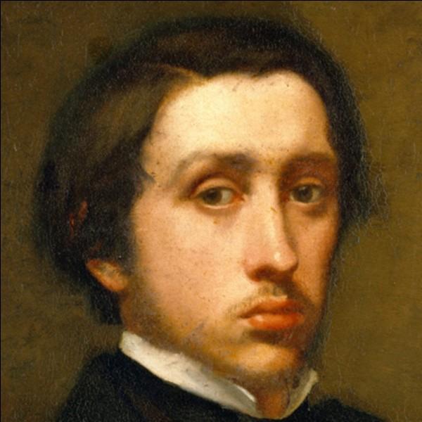 Qui était Edgar Degas ?