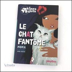 Qui a parlé du chat fantôme aux Kinra Girls ?