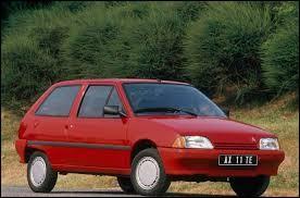 Quel est le nom de cette Citroën produite dans les années 80 et 90 ?