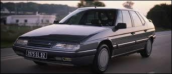 Quel est le nom de cette Citroën des années 90 ?