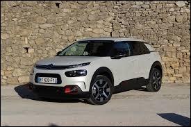 Quel est le nom de cette Citroën récente ?