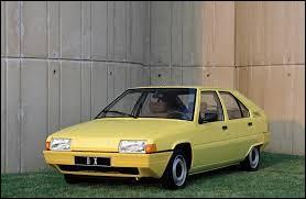 Comment se nomme cette Citroën produite dans les années 80 et 90 ?