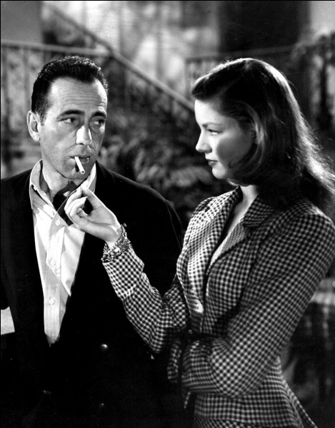 De quel film réunissant Humphrey Bogart et Lauren Bacall est extraite cette photo ?