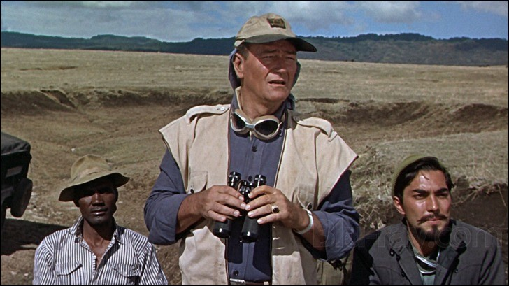 D'où vient cette photo, extraite d'un film avec John Wayne ?