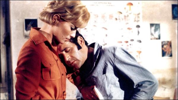 De quel film de Claude Chabrol vette photo réunissant Stéphane Audran et Jean Yanne nous vient-elle ?