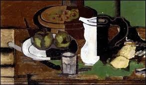 """Qui a peint """"Couteau, prunes, raisins et cruche"""" ?"""