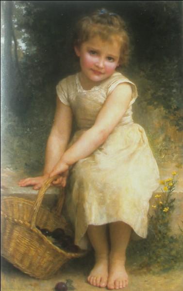 """Qui a représenté cette fillette sur cette toile intitulée """"Les Prunes"""" ?"""