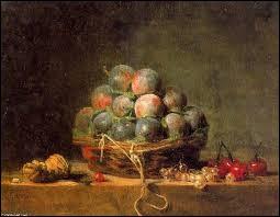 """Qui est le peintre du tableau intitulé """"Les Prunes"""" ?"""