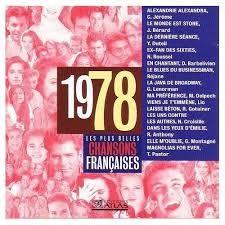 Chansons francophones de l'année 1978 (1re partie)