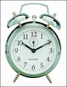 Ton réveil sonne un dimanche à 6 heures du matin, que fais-tu ?