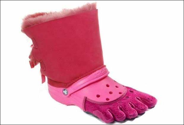 Sur le chemin du retour, tu croises une amie. Tu t'aperçois qu'elle porte des chaussures hideuses. Elle te demande comment tu les trouves. Que lui dis-tu ?