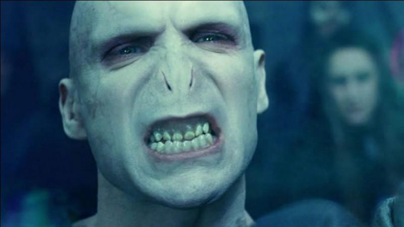 Quel est le prénom de la mère de Voldemort ?