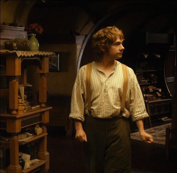 En Comté, Bilbon organise une fête en l'honneur de...