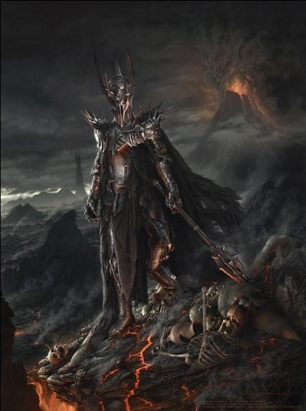 Lorsque Bilbon confie difficilement l'Anneau à Gandalf pour qu'il le transmette à Frodon, quelle est la vision de Gandalf ?