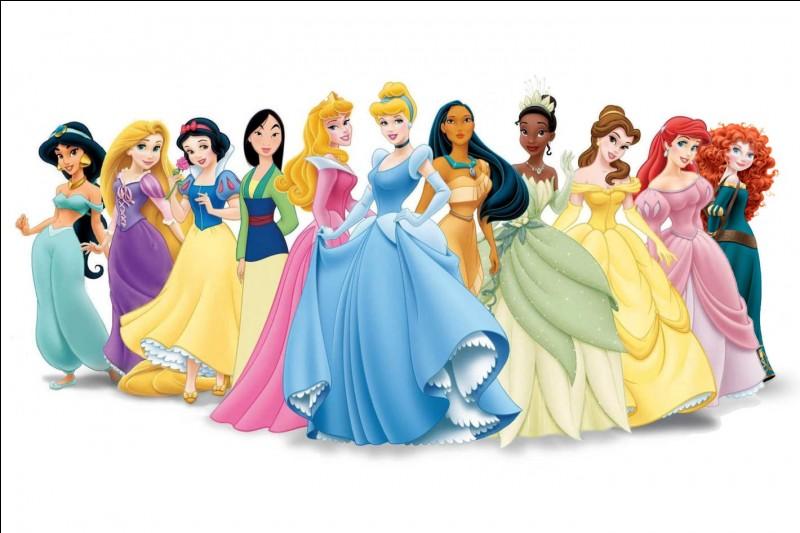 """Combien y a-t-il de princesses Disney """"officielles"""" ?"""