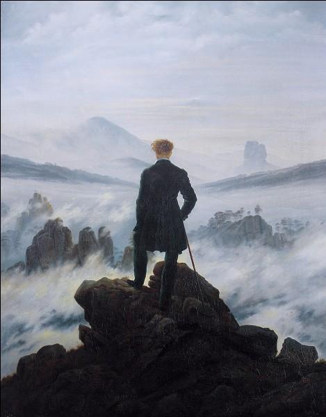 """À quel artiste doit-on le tableau """"Le voyageur contemplant une mer de nuages"""" ?"""