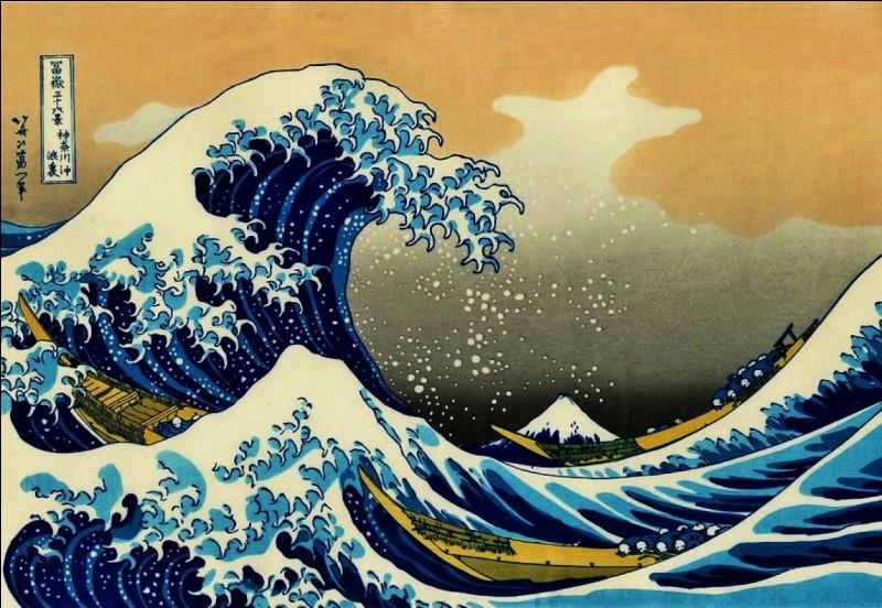 Le peintre japonais Hokusai, né de parents inconnus, avait coutume de changer de nom d'artiste au fil de sa carrière ; combien en a-t-il utilisés ?