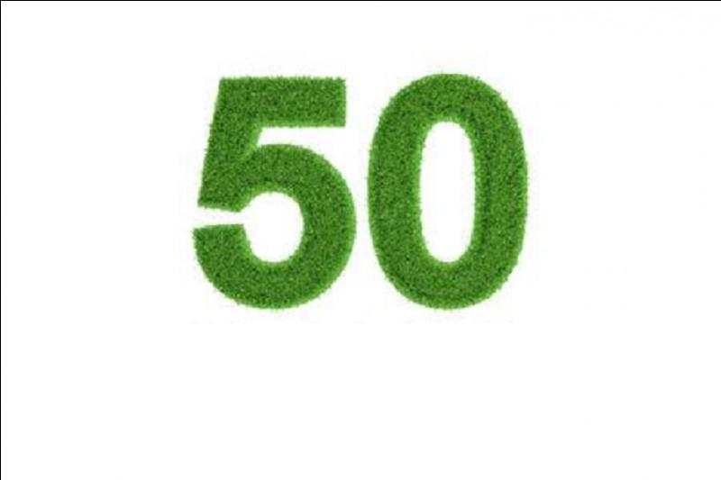 Que fête-t-on pour les 50 ans de mariage ?
