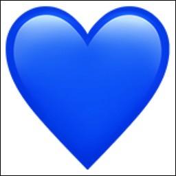 Que signifie le cœur bleu ?