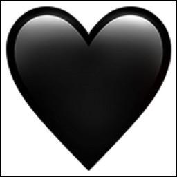 Que signifie le cœur noir ?